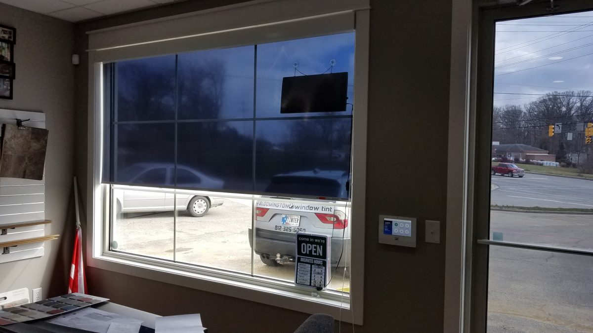 Halcyon Shades Installed by Bloomington Window Tint