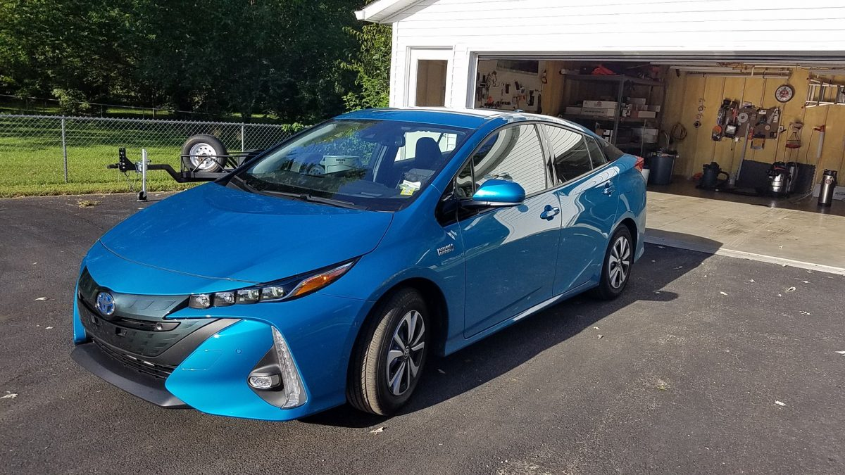 Prius Prime - Ceramic Film Installation by Bloomington Window Tint