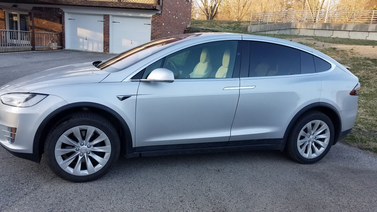Tesla Model X 70% Ceramic Window Film
